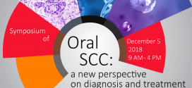 """One-day symposium of ""Oral SCC: A new Perspective on Diagnosis and Treatment"